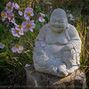 Buddha and flower petals #2