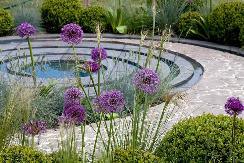 'Collision' at Malvern Spring Gardening Show 2011, Designer Jardin de Tessier