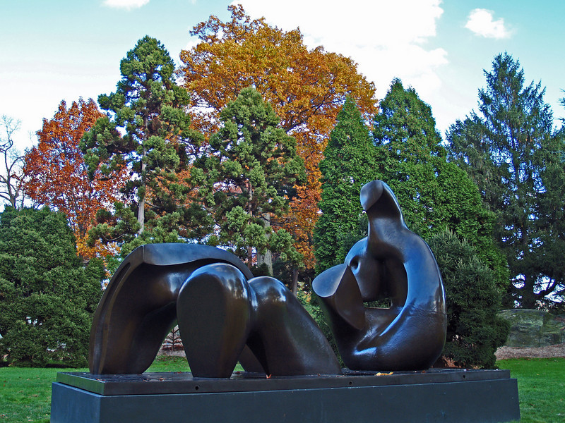 """Three Piece Reclining Figure: Draped"" (1975)"