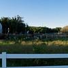 The small farm on the corner.