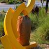 """""""SPRING"""" by Mac Hornecker (Guest Sculptor, 2011)<br /> <br /> """"The Bernice Garden""""<br /> Little Rock, AR"""