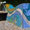 """2 of 2 Mosaic Sculptures<br /> <br /> """"The Bernice Garden""""<br /> Little Rock, AR"""