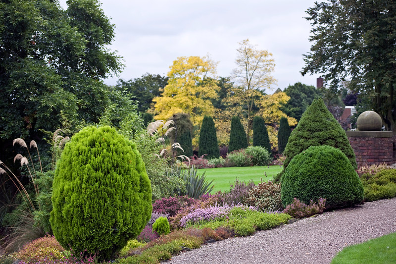 Winterbourne Botanic Garden view