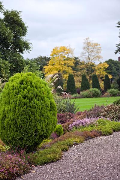 Winterbourne Botanic Garden view