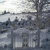 Snowy Garden Gate