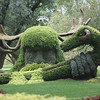 forest topiary with ram