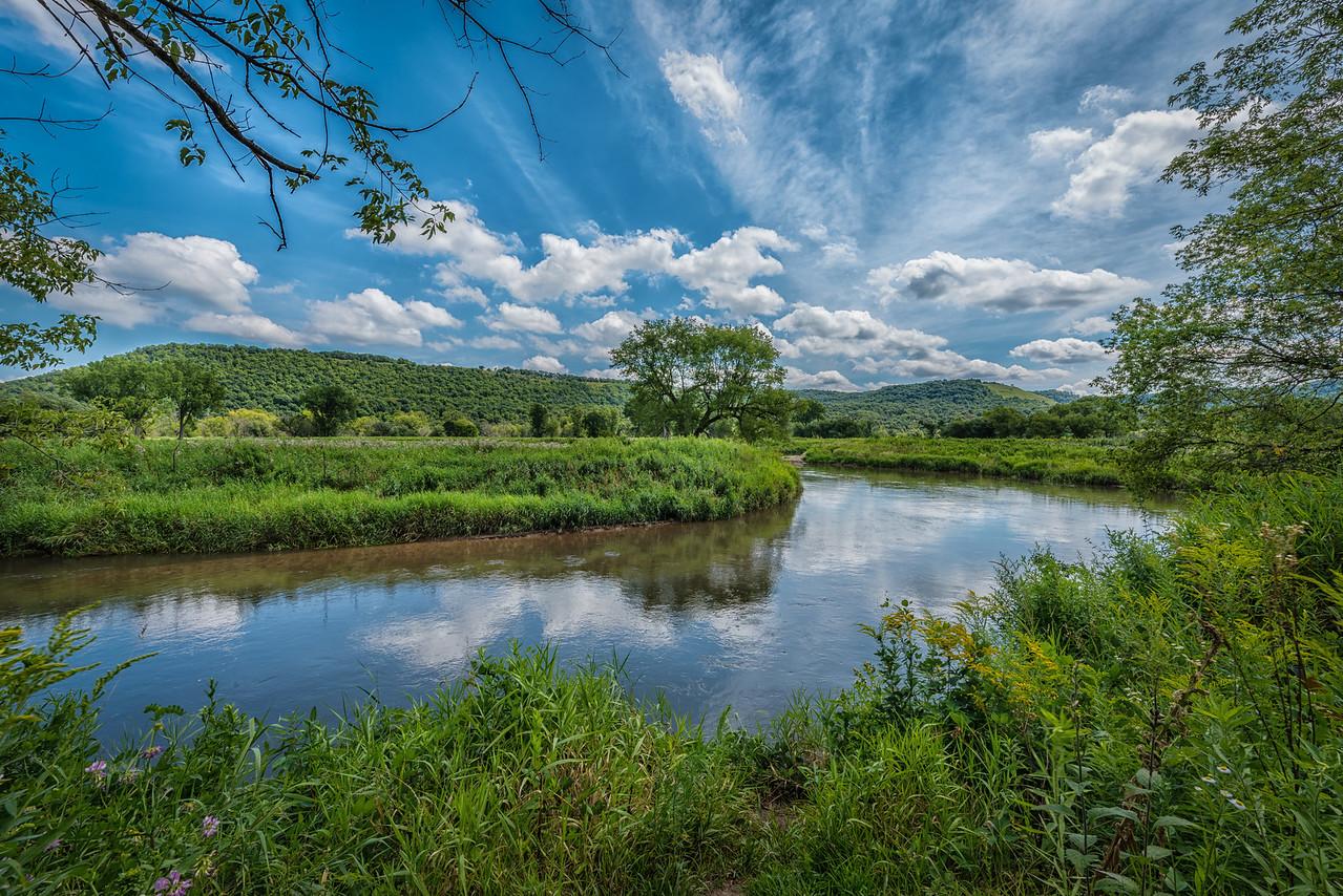 Whitewater River near Alba, MN.