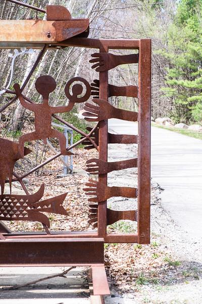 symbols on a gate