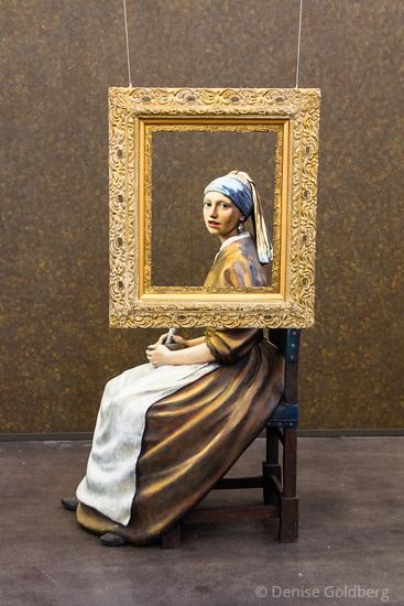inspired by Vermeer's