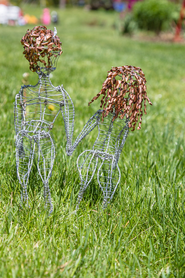 from Noah's Ark at Bedrock Gardens, creations of students of Dover High and Oyster River Middle Schools