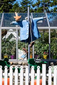 scarecrow, sculpted