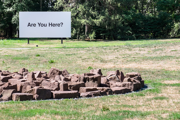 Are You Here? billboard by Jonathan Gitelson