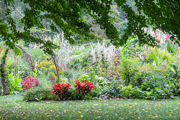 garden view, at Chanticleer