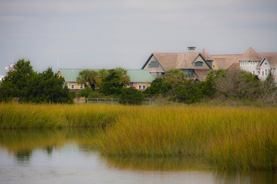 Houses and Marsh