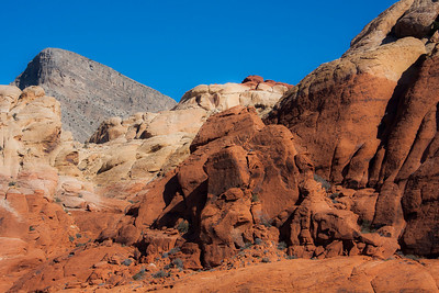 Layers of colors, Red Rock Canyon