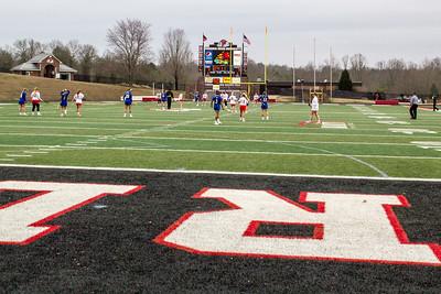 Gardner Webb University Women's Lacrosse Exhibition Game vs Limestone 02-03-2017