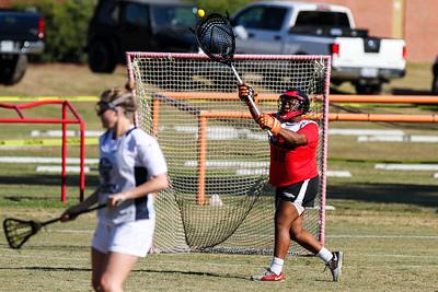 Gardner Webb University Women's Lacrosse Fall Ball 7v7 @ Campbell 10-29-16