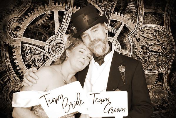 Gareth and Tracey's wedding