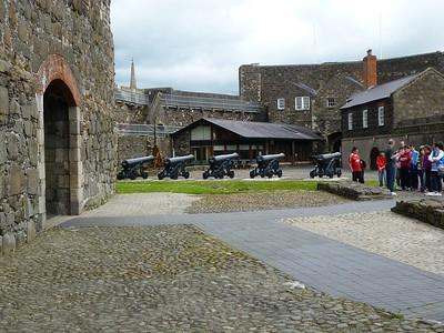 Cannon in Carrickfergus Castle
