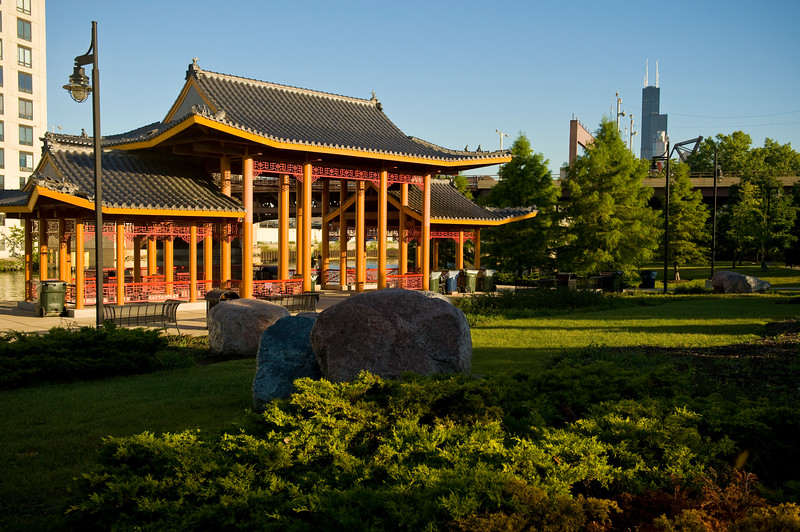 Ping Tom Memorial Park in China Town.