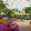 Garfield Park Conservatory Show House during the Spring Flower Show