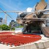 Millennium Park summer 2016 Pritzker Pavilion seating bowl