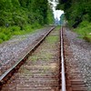 Train Track in Summer