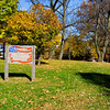 Grove of Remembrance Sign
