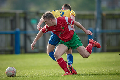 Jordan Hendrie saw two yellows and a red. The second yellow being for a deliberate handball on the sideline on Railway's right. A harsh decision according to Paul Beesley.
