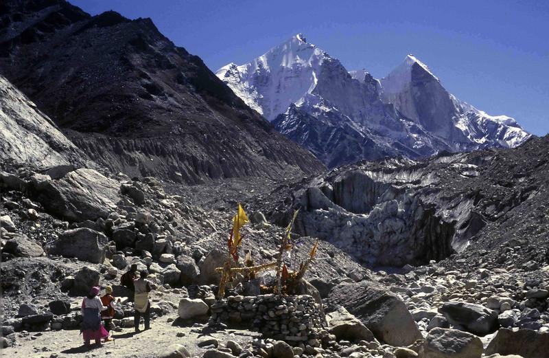 Bhagirathi peaks and Goumukh