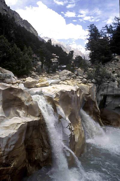 The Ganga at Gangotri