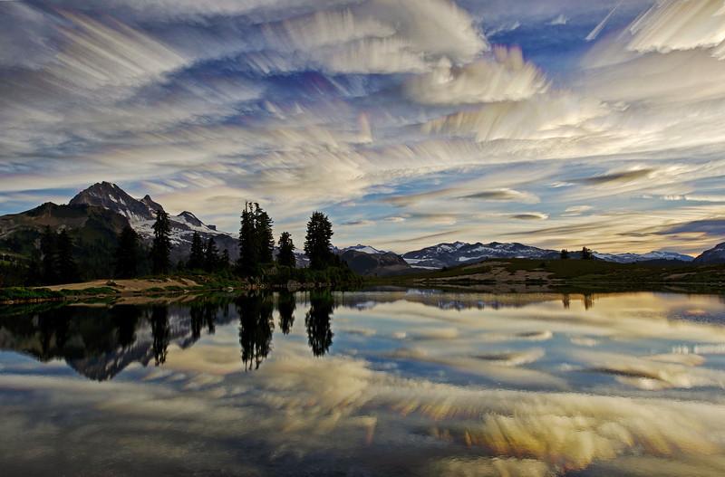 Elfin Lakes Morning