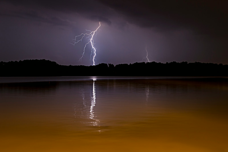Lake Benson Lightning