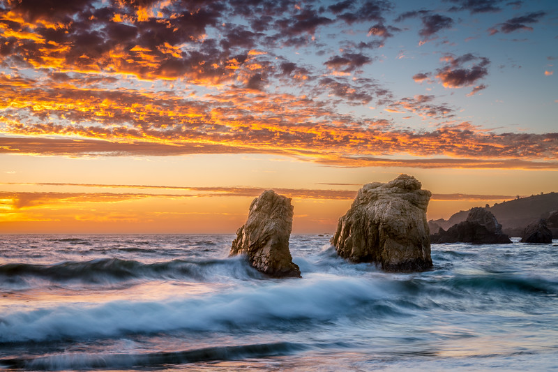 Garrapata Sea Stacks - Big Sur, CA