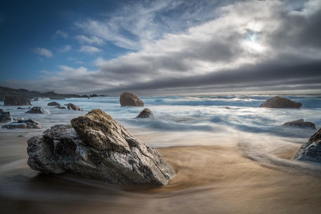 Garrapata Beach Exposed