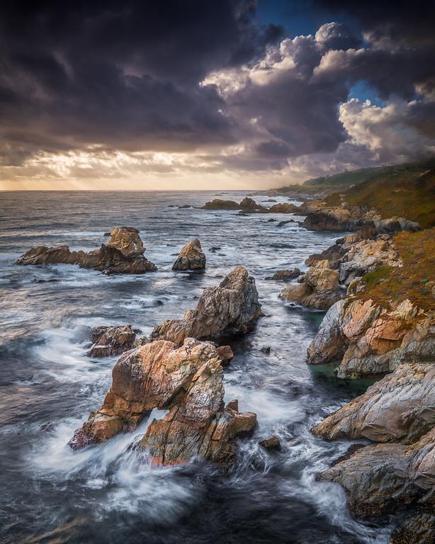 Garrapata Sea Arch - Big Sur, CA