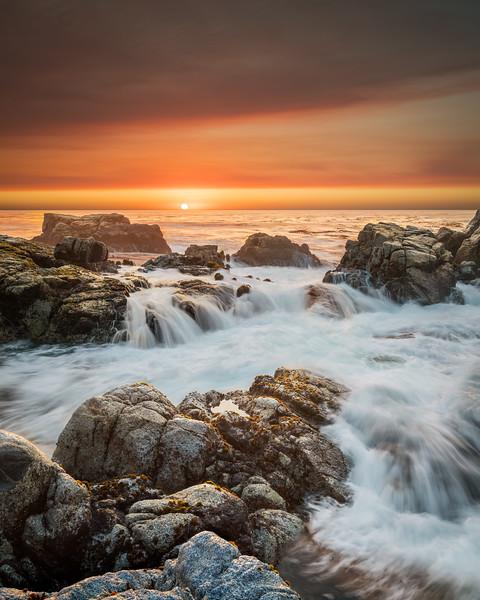 Soberanes Fire Sunset