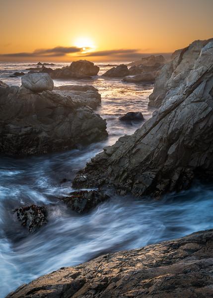 Garrapata Seascape - Big Sur, CA
