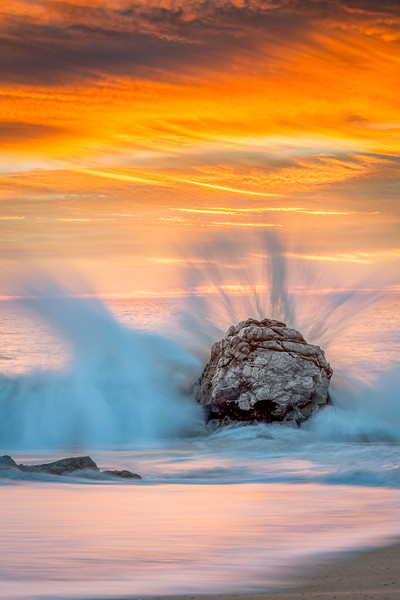 Exploding Waves at Garrapata Beach