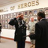 "(FORT BENNING, Ga) Soldiers and family members attend the Wall of Heroes Ceremony honoring the late SPC Jacques ""Gus"" Brunson, Lt. Col. Terry Payne, SGT Jose Pillot and CW3 Bruce E. Price  Friday, June 22, 2012 at the Survivor Outreach Services Center,  Fort Benning, GA."