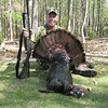 Ed House, 7 April 13; 9.75 in beard; .75 in spurs; 20 lbs; Remington 1187 12GA