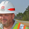 Project Engineer Tom O'Buckley.  Aug. 26, 2011.