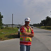 United States Army Corps of Engineers, Savannah District, Sr. Project Engineer Brian Hilton. Photos taken by Cindy Andruss. Aug. 26, 2011.