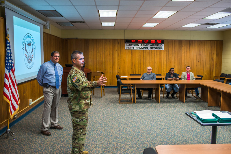 Lawson Army Airfield Awards Presentation