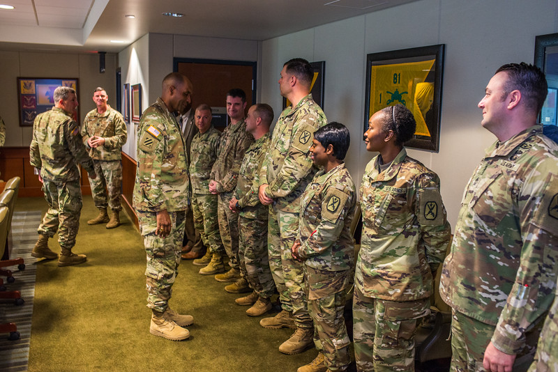 Fort Benning Inspector General Swearing In Ceremony