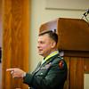 19 APR 2011 - Retirement ceremony for LTC Rash.  Pratt Hall, BLDG 35, MCoE, Fort Benning, GA.  Photo by John D. Helms - john.d.helms@us.army.mil