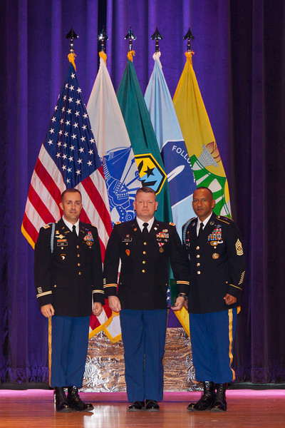2012 02 21 (FORT BENNING, GEORGIA) - February Retirement Ceremony at the Benning Conference Center. Photo by Kristin Gallatin.