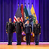 (FORT BENNING, Ga) Maneuver Center of Excellence Monthly Retirement Ceremony, August 19, 2014 at Marshall Auditorium. (Patrick A. Albright/MCoE PAO Photographer)