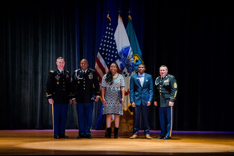 MCoE Monthly Retirement Ceremony for January, 2017