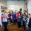 Fifth Graders from EA White and Dexter Elementary Schools visit Riverside.